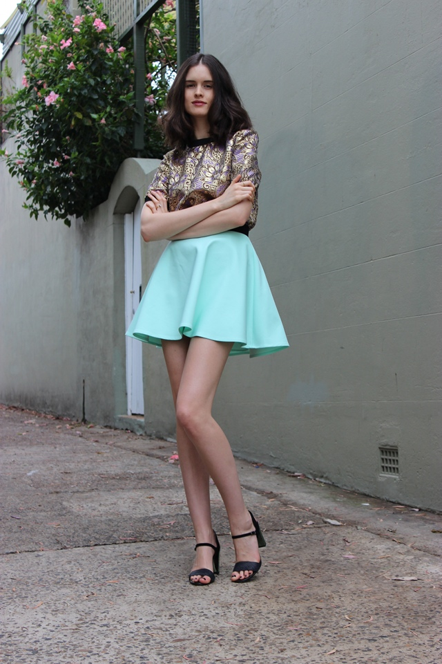 by chill BYCHILL chloe hill pastels and brocade