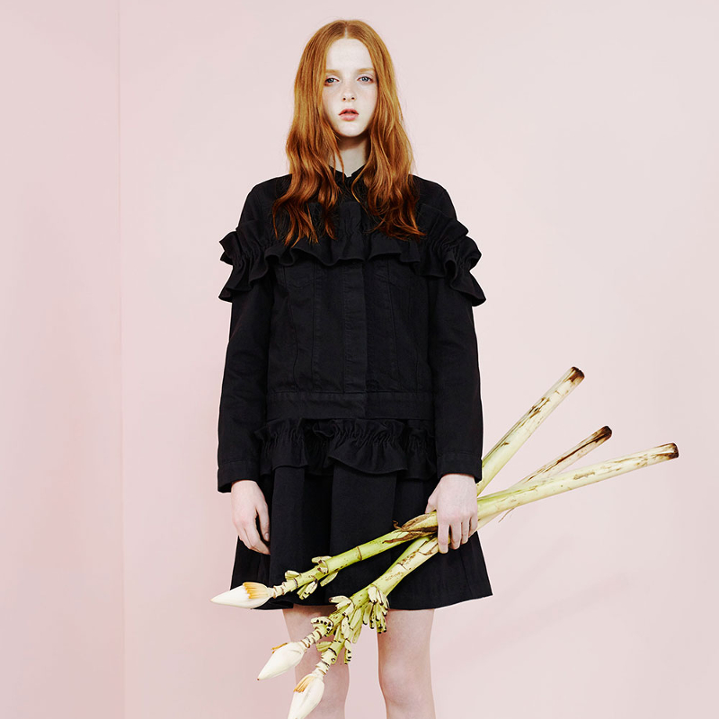 BY CHILL SYDNEY BLOG Simone Rocha X J.Brand collaboration collection 2014 OPEN