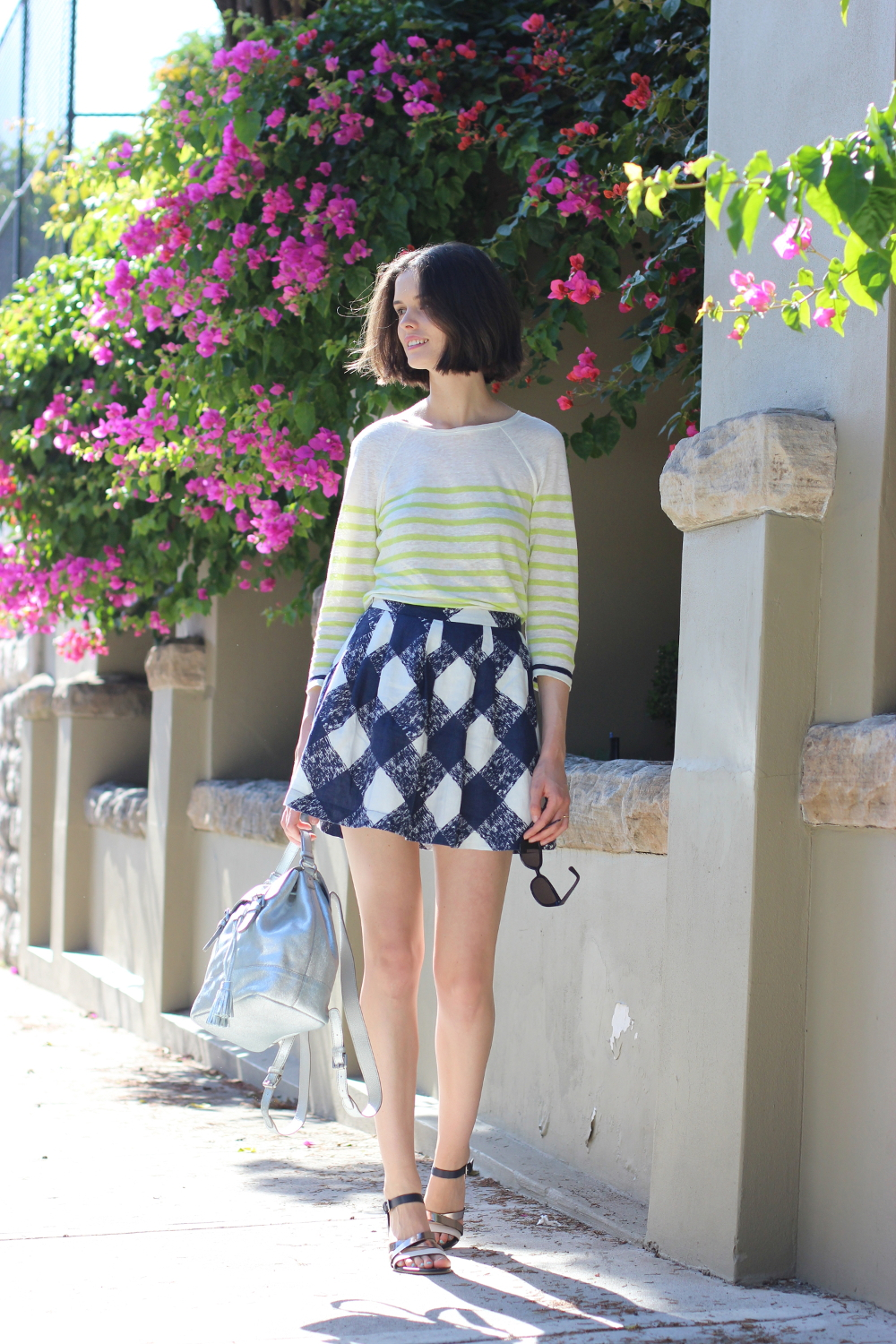 BYCHILL BLOG | Chloe Hill on the streets of Valcluse NSW wearing Boden clothing