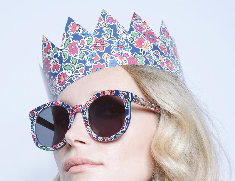BYCHILL FASHION | Karen Walker's exclusive floral sunglasses for Liberty London